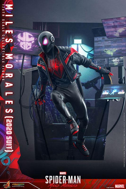 ビデオゲーム・マスターピース『マイルス・モラレス/スパイダーマン(マイルス・モラレス2020スーツ版)』Marvel's Spider-Man: Miles Morales 1/6 可動フィギュア-005