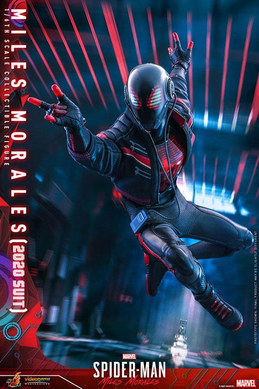 ビデオゲーム・マスターピース『マイルス・モラレス/スパイダーマン(マイルス・モラレス2020スーツ版)』Marvel's Spider-Man: Miles Morales 1/6 可動フィギュア-006