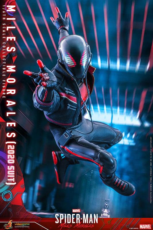 ビデオゲーム・マスターピース『マイルス・モラレス/スパイダーマン(マイルス・モラレス2020スーツ版)』Marvel's Spider-Man: Miles Morales 1/6 可動フィギュア-007