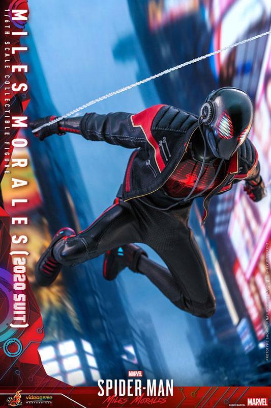 ビデオゲーム・マスターピース『マイルス・モラレス/スパイダーマン(マイルス・モラレス2020スーツ版)』Marvel's Spider-Man: Miles Morales 1/6 可動フィギュア-008