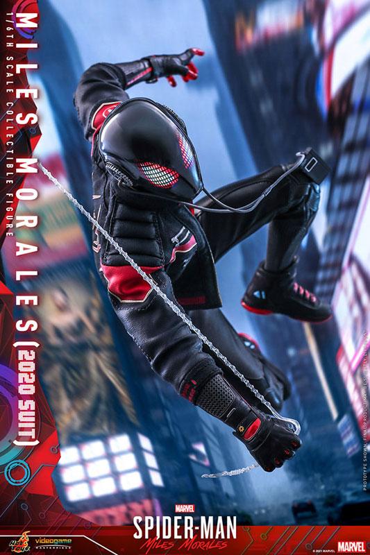 ビデオゲーム・マスターピース『マイルス・モラレス/スパイダーマン(マイルス・モラレス2020スーツ版)』Marvel's Spider-Man: Miles Morales 1/6 可動フィギュア-009