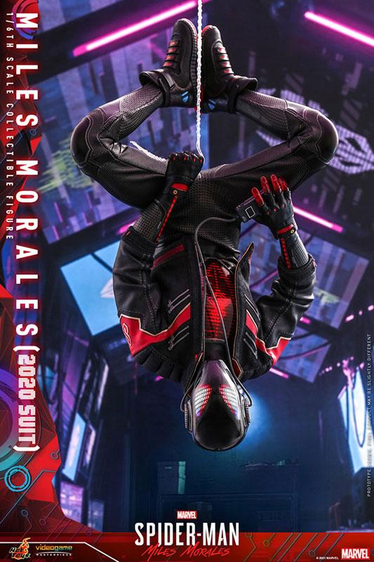 ビデオゲーム・マスターピース『マイルス・モラレス/スパイダーマン(マイルス・モラレス2020スーツ版)』Marvel's Spider-Man: Miles Morales 1/6 可動フィギュア-010