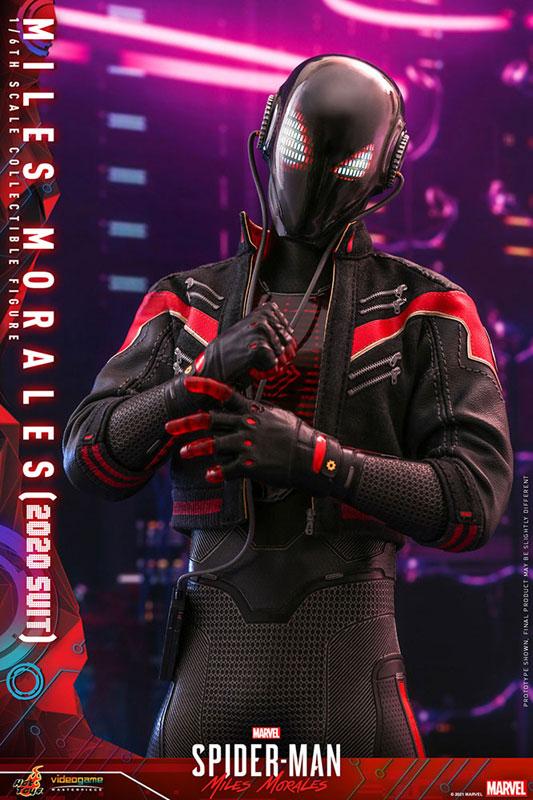 ビデオゲーム・マスターピース『マイルス・モラレス/スパイダーマン(マイルス・モラレス2020スーツ版)』Marvel's Spider-Man: Miles Morales 1/6 可動フィギュア-011