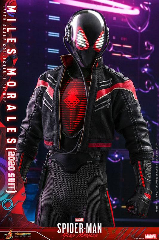 ビデオゲーム・マスターピース『マイルス・モラレス/スパイダーマン(マイルス・モラレス2020スーツ版)』Marvel's Spider-Man: Miles Morales 1/6 可動フィギュア-012