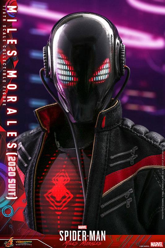 ビデオゲーム・マスターピース『マイルス・モラレス/スパイダーマン(マイルス・モラレス2020スーツ版)』Marvel's Spider-Man: Miles Morales 1/6 可動フィギュア-013