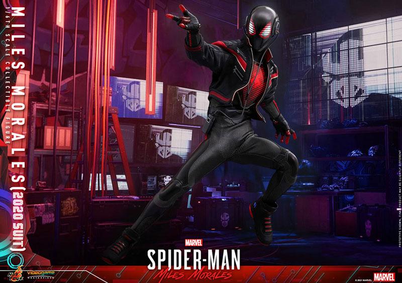 ビデオゲーム・マスターピース『マイルス・モラレス/スパイダーマン(マイルス・モラレス2020スーツ版)』Marvel's Spider-Man: Miles Morales 1/6 可動フィギュア-014