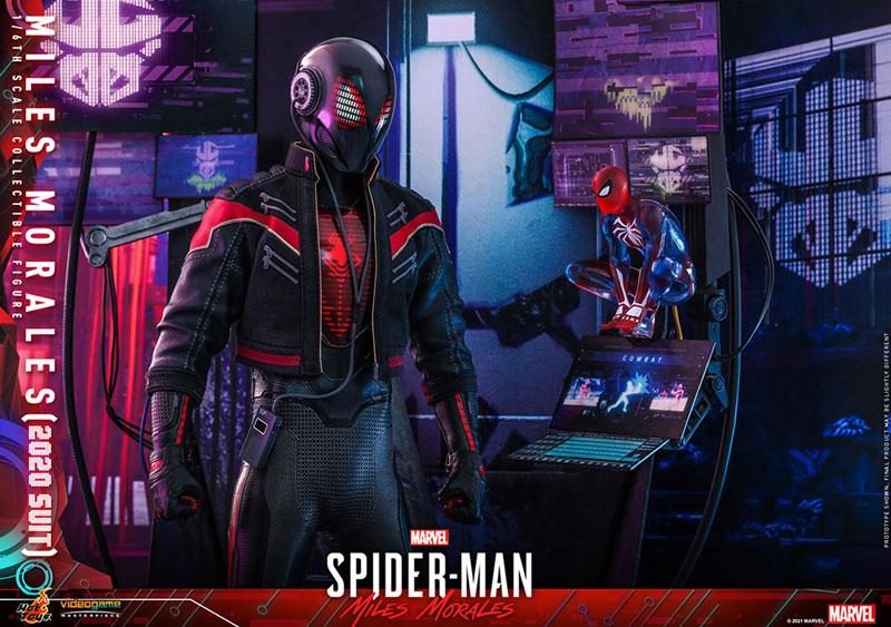 ビデオゲーム・マスターピース『マイルス・モラレス/スパイダーマン(マイルス・モラレス2020スーツ版)』Marvel's Spider-Man: Miles Morales 1/6 可動フィギュア-015