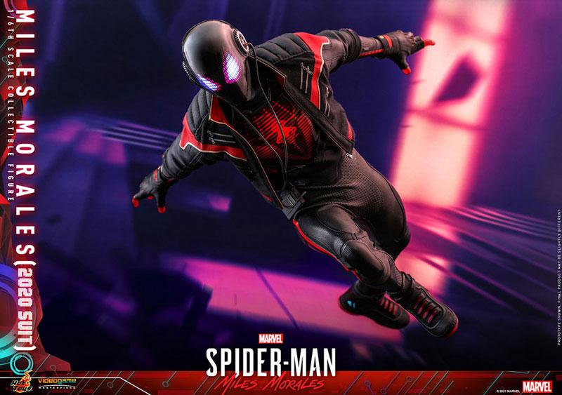 ビデオゲーム・マスターピース『マイルス・モラレス/スパイダーマン(マイルス・モラレス2020スーツ版)』Marvel's Spider-Man: Miles Morales 1/6 可動フィギュア-016