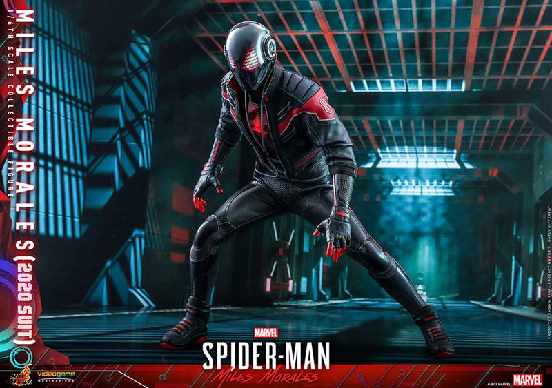 ビデオゲーム・マスターピース『マイルス・モラレス/スパイダーマン(マイルス・モラレス2020スーツ版)』Marvel's Spider-Man: Miles Morales 1/6 可動フィギュア-017