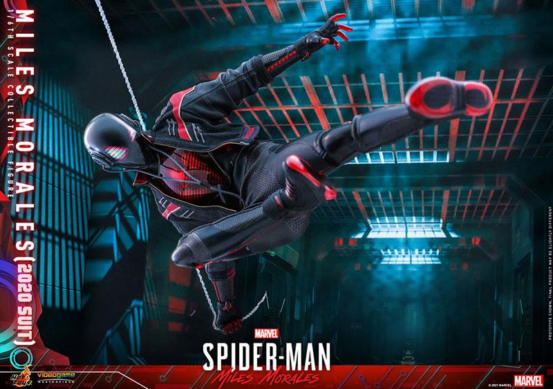 ビデオゲーム・マスターピース『マイルス・モラレス/スパイダーマン(マイルス・モラレス2020スーツ版)』Marvel's Spider-Man: Miles Morales 1/6 可動フィギュア-018