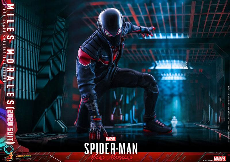 ビデオゲーム・マスターピース『マイルス・モラレス/スパイダーマン(マイルス・モラレス2020スーツ版)』Marvel's Spider-Man: Miles Morales 1/6 可動フィギュア-019