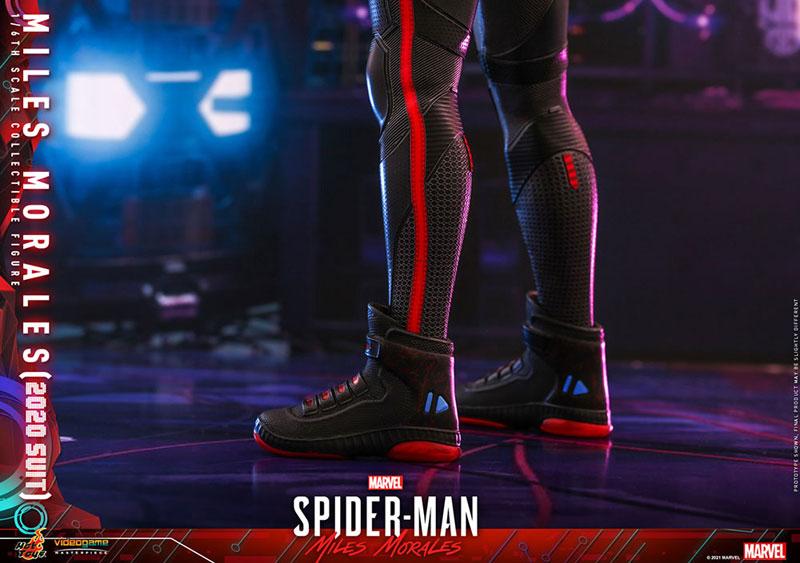 ビデオゲーム・マスターピース『マイルス・モラレス/スパイダーマン(マイルス・モラレス2020スーツ版)』Marvel's Spider-Man: Miles Morales 1/6 可動フィギュア-020