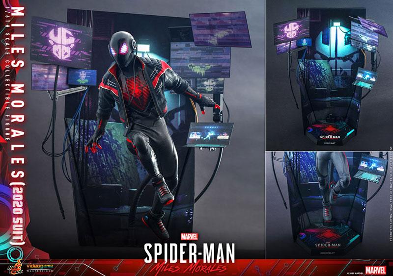 ビデオゲーム・マスターピース『マイルス・モラレス/スパイダーマン(マイルス・モラレス2020スーツ版)』Marvel's Spider-Man: Miles Morales 1/6 可動フィギュア-021