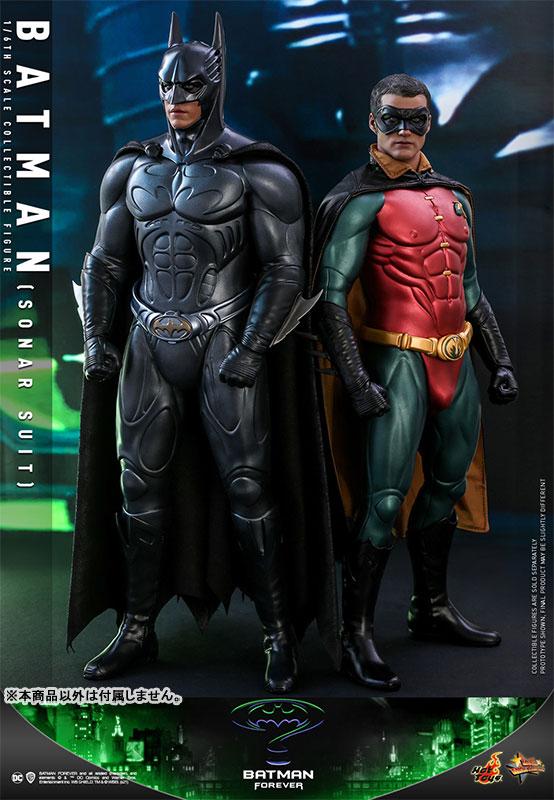 ムービー・マスターピース『バットマン(ソナー・スーツ版)』バットマン フォーエヴァー 1/6 可動フィギュア-004