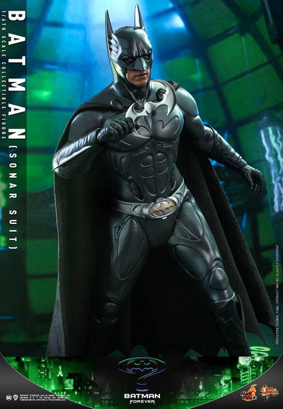 ムービー・マスターピース『バットマン(ソナー・スーツ版)』バットマン フォーエヴァー 1/6 可動フィギュア-009