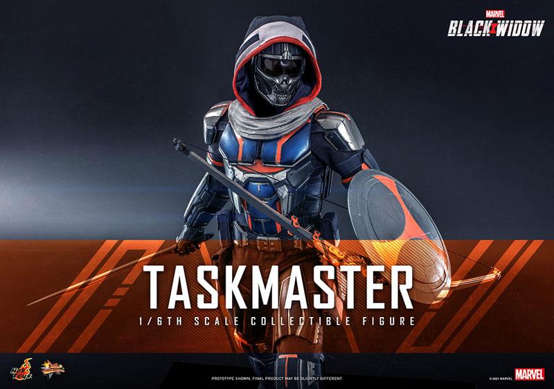 ムービー・マスターピース『タスクマスター』ブラック・ウィドウ 1/6 可動フィギュア-001