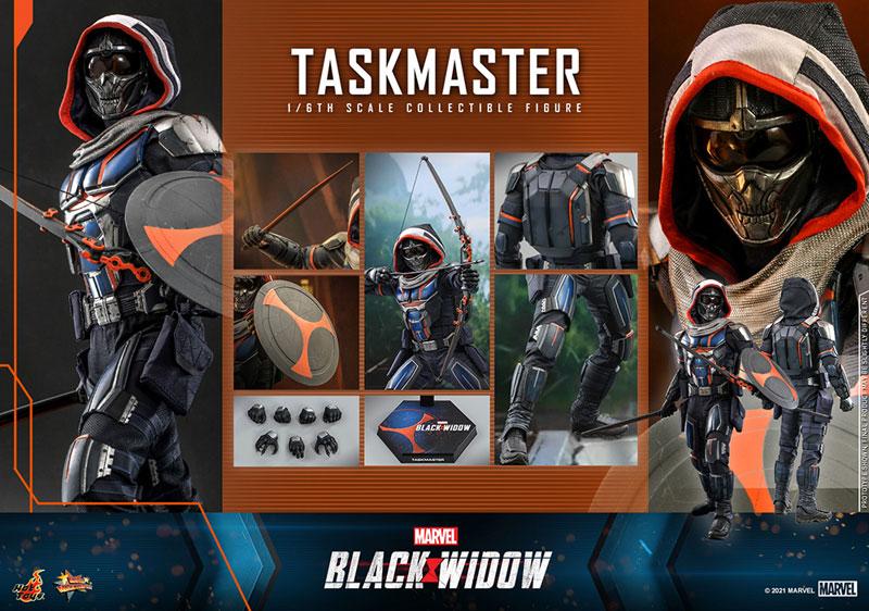 ムービー・マスターピース『タスクマスター』ブラック・ウィドウ 1/6 可動フィギュア-016
