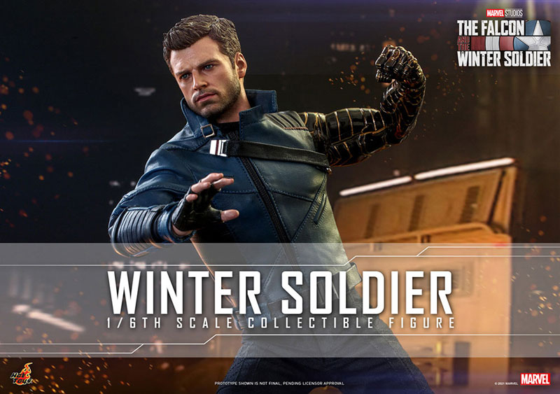 テレビ・マスターピース『ウィンター ソルジャー』The Falcon and Winter Soldier 1/6 可動フィギュア-001