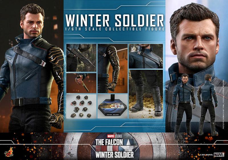 テレビ・マスターピース『ウィンター ソルジャー』The Falcon and Winter Soldier 1/6 可動フィギュア-020