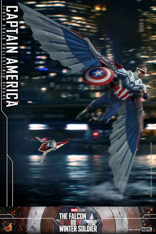 テレビ・マスターピース『キャプテンアメリカ』ファルコン&ウィンターソルジャー 1/6 可動フィギュア-014