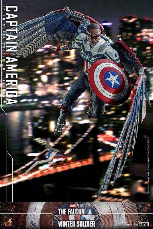テレビ・マスターピース『キャプテンアメリカ』ファルコン&ウィンターソルジャー 1/6 可動フィギュア-016