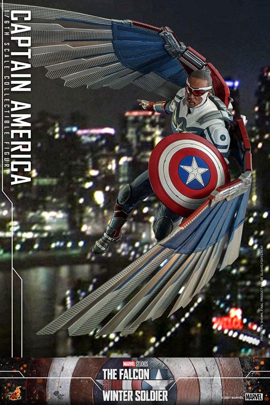テレビ・マスターピース『キャプテンアメリカ』ファルコン&ウィンターソルジャー 1/6 可動フィギュア-017
