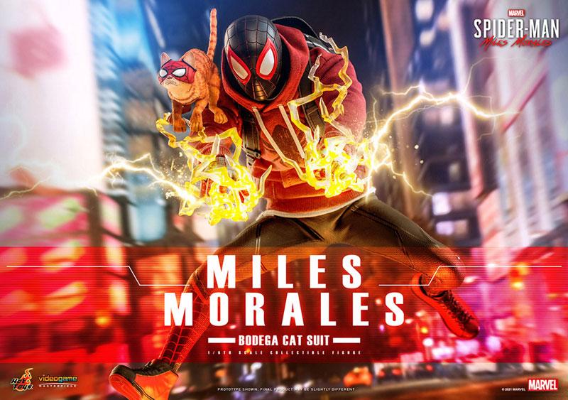 ビデオゲーム・マスターピース『マイルス・モラレス/スパイダーマン(売店の看板猫スーツ版)』Marvel's Spider-Man:Miles Morales 1/6 可動フィギュア-001