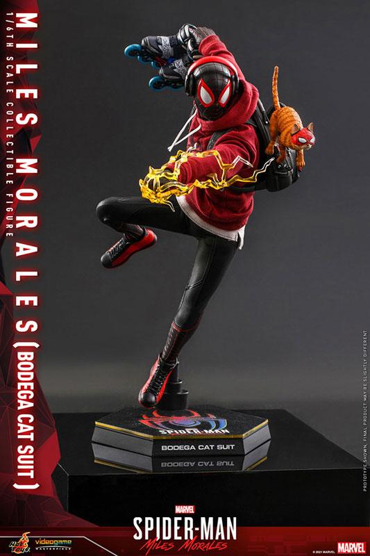 ビデオゲーム・マスターピース『マイルス・モラレス/スパイダーマン(売店の看板猫スーツ版)』Marvel's Spider-Man:Miles Morales 1/6 可動フィギュア-003