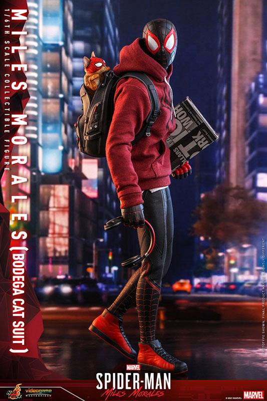 ビデオゲーム・マスターピース『マイルス・モラレス/スパイダーマン(売店の看板猫スーツ版)』Marvel's Spider-Man:Miles Morales 1/6 可動フィギュア-005