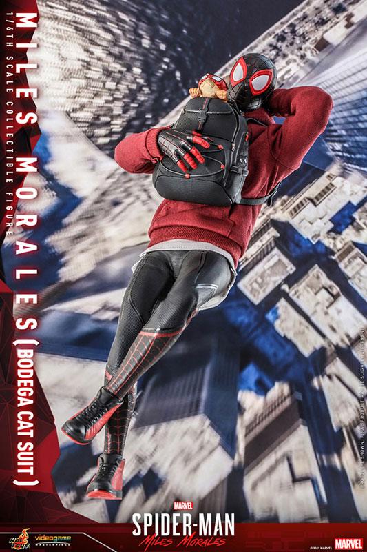ビデオゲーム・マスターピース『マイルス・モラレス/スパイダーマン(売店の看板猫スーツ版)』Marvel's Spider-Man:Miles Morales 1/6 可動フィギュア-008