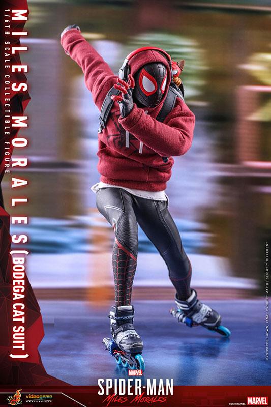 ビデオゲーム・マスターピース『マイルス・モラレス/スパイダーマン(売店の看板猫スーツ版)』Marvel's Spider-Man:Miles Morales 1/6 可動フィギュア-009