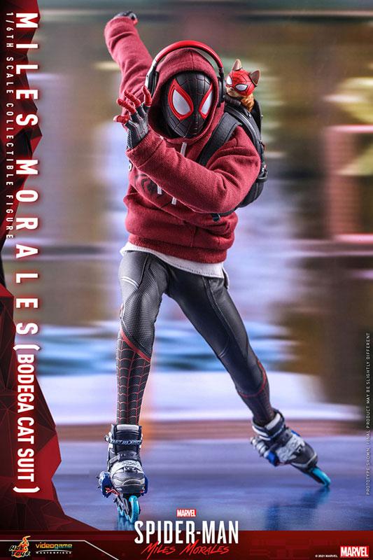 ビデオゲーム・マスターピース『マイルス・モラレス/スパイダーマン(売店の看板猫スーツ版)』Marvel's Spider-Man:Miles Morales 1/6 可動フィギュア-010
