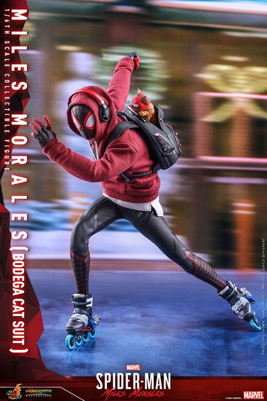 ビデオゲーム・マスターピース『マイルス・モラレス/スパイダーマン(売店の看板猫スーツ版)』Marvel's Spider-Man:Miles Morales 1/6 可動フィギュア-011
