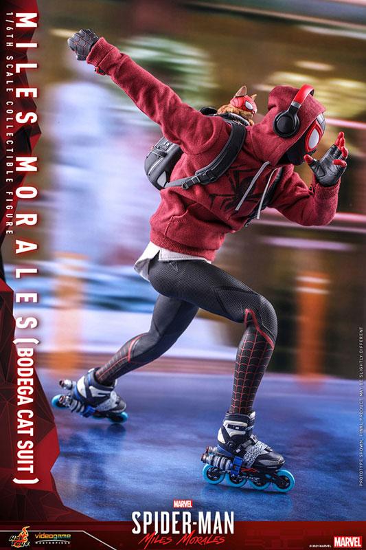 ビデオゲーム・マスターピース『マイルス・モラレス/スパイダーマン(売店の看板猫スーツ版)』Marvel's Spider-Man:Miles Morales 1/6 可動フィギュア-012