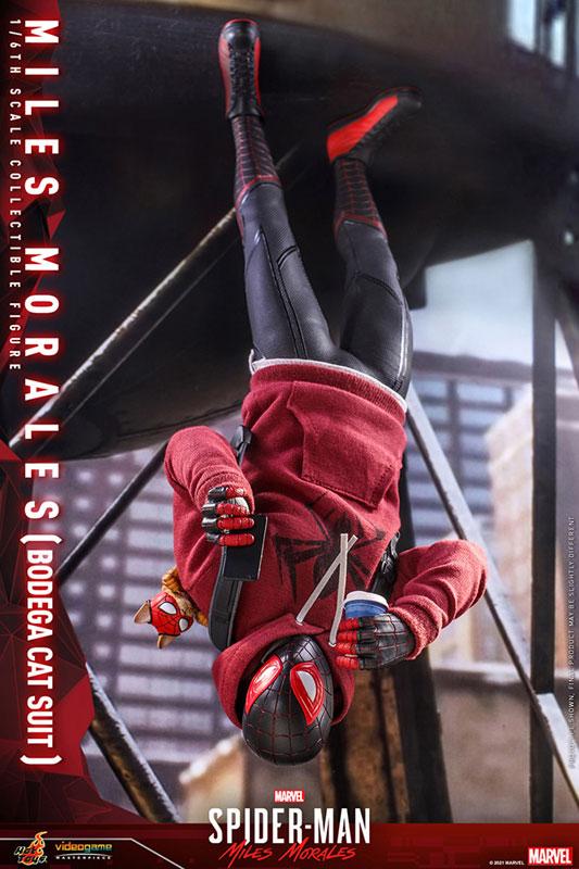 ビデオゲーム・マスターピース『マイルス・モラレス/スパイダーマン(売店の看板猫スーツ版)』Marvel's Spider-Man:Miles Morales 1/6 可動フィギュア-013