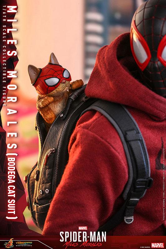 ビデオゲーム・マスターピース『マイルス・モラレス/スパイダーマン(売店の看板猫スーツ版)』Marvel's Spider-Man:Miles Morales 1/6 可動フィギュア-014