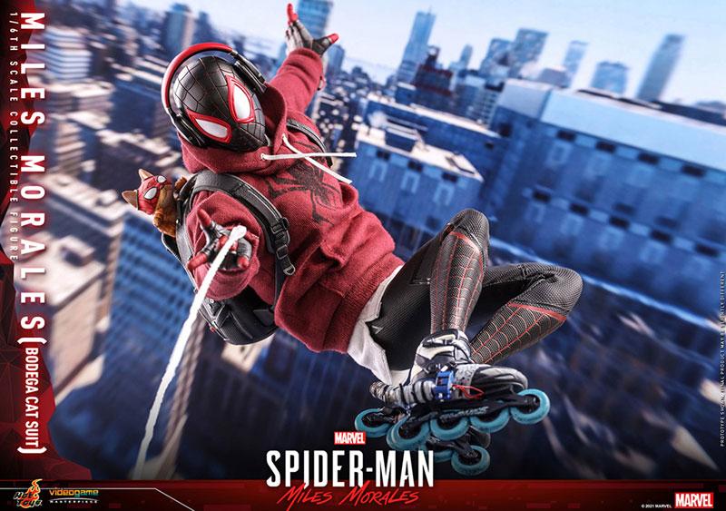 ビデオゲーム・マスターピース『マイルス・モラレス/スパイダーマン(売店の看板猫スーツ版)』Marvel's Spider-Man:Miles Morales 1/6 可動フィギュア-015