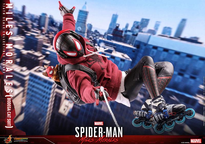 ビデオゲーム・マスターピース『マイルス・モラレス/スパイダーマン(売店の看板猫スーツ版)』Marvel's Spider-Man:Miles Morales 1/6 可動フィギュア-016