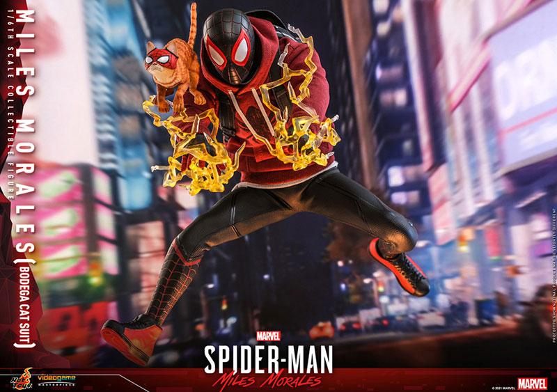 ビデオゲーム・マスターピース『マイルス・モラレス/スパイダーマン(売店の看板猫スーツ版)』Marvel's Spider-Man:Miles Morales 1/6 可動フィギュア-017
