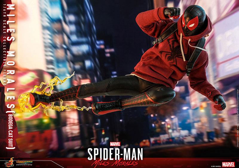 ビデオゲーム・マスターピース『マイルス・モラレス/スパイダーマン(売店の看板猫スーツ版)』Marvel's Spider-Man:Miles Morales 1/6 可動フィギュア-019
