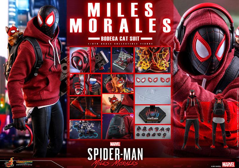 ビデオゲーム・マスターピース『マイルス・モラレス/スパイダーマン(売店の看板猫スーツ版)』Marvel's Spider-Man:Miles Morales 1/6 可動フィギュア-020