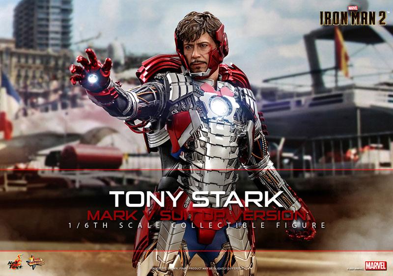 ムービー・マスターピース『トニー・スターク MarkV SuitUpVer』アイアンマン2 1/6 可動フィギュア-001