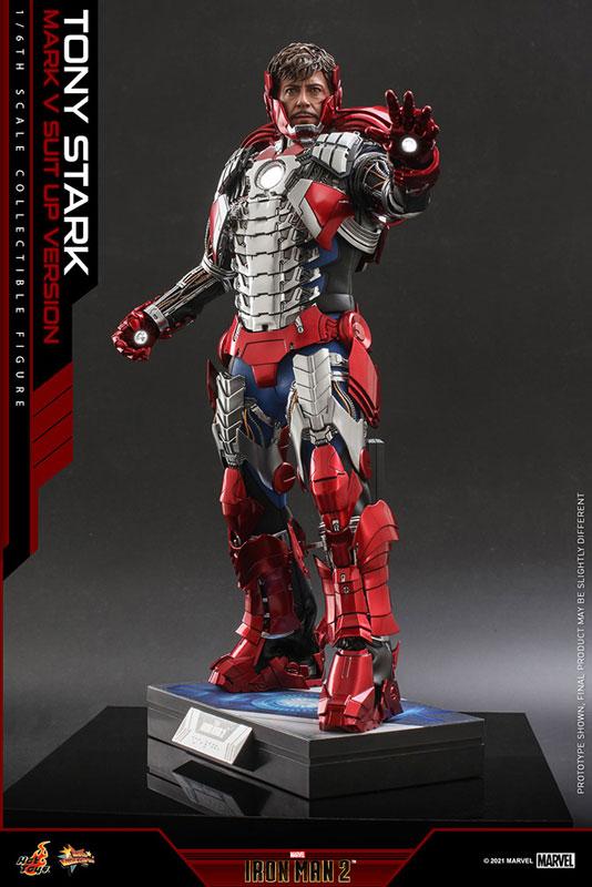 ムービー・マスターピース『トニー・スターク MarkV SuitUpVer』アイアンマン2 1/6 可動フィギュア-002
