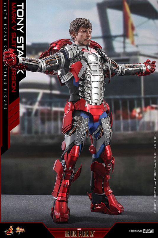 ムービー・マスターピース『トニー・スターク MarkV SuitUpVer』アイアンマン2 1/6 可動フィギュア-003