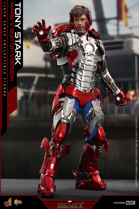 ムービー・マスターピース『トニー・スターク MarkV SuitUpVer』アイアンマン2 1/6 可動フィギュア-006