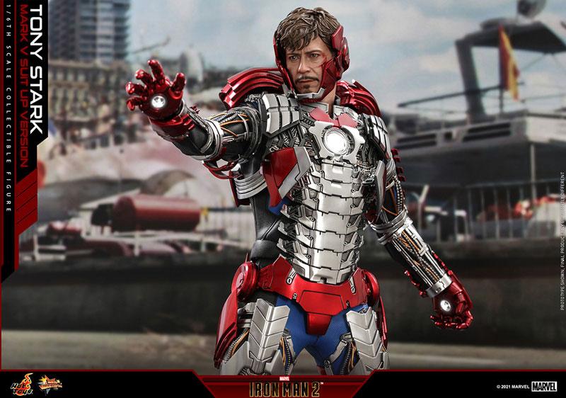 ムービー・マスターピース『トニー・スターク MarkV SuitUpVer』アイアンマン2 1/6 可動フィギュア-013
