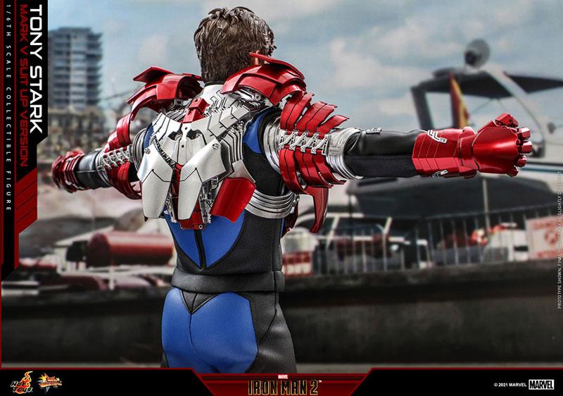 ムービー・マスターピース『トニー・スターク MarkV SuitUpVer』アイアンマン2 1/6 可動フィギュア-016
