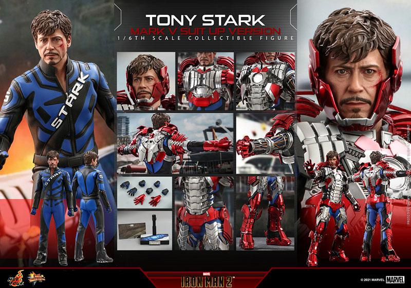 ムービー・マスターピース『トニー・スターク MarkV SuitUpVer』アイアンマン2 1/6 可動フィギュア-017