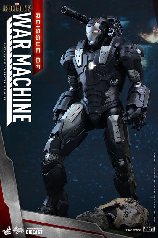 【再販】ムービー・マスターピース DIECAST『ウォーマシン』アイアンマン2 1/6 可動フィギュア-001
