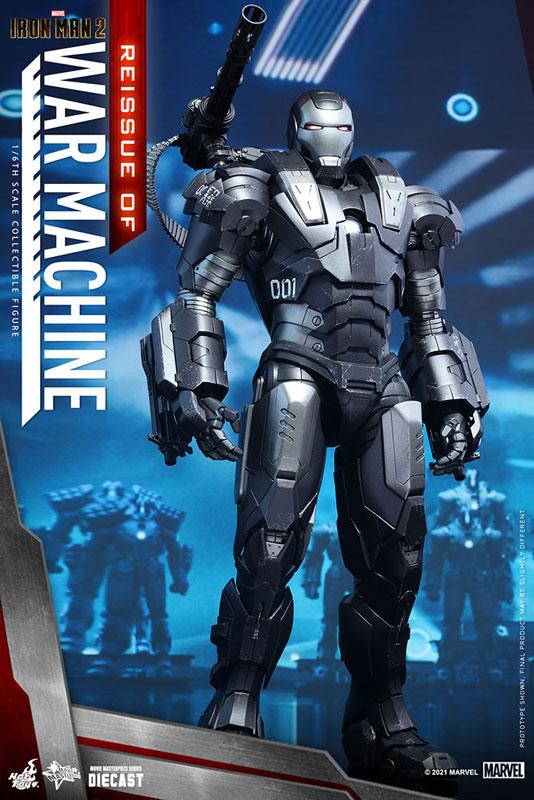 【再販】ムービー・マスターピース DIECAST『ウォーマシン』アイアンマン2 1/6 可動フィギュア-002